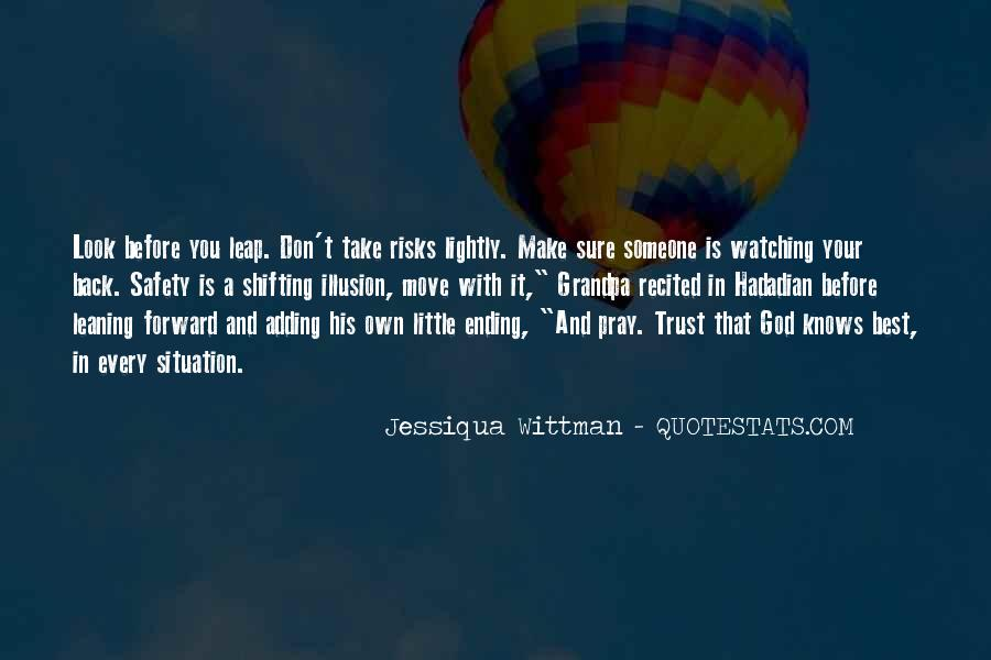 Quotes About God Knows Best #930043