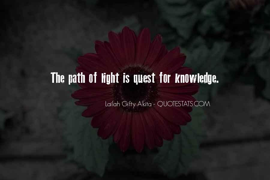 Quotes About Quest For Knowledge #1347298