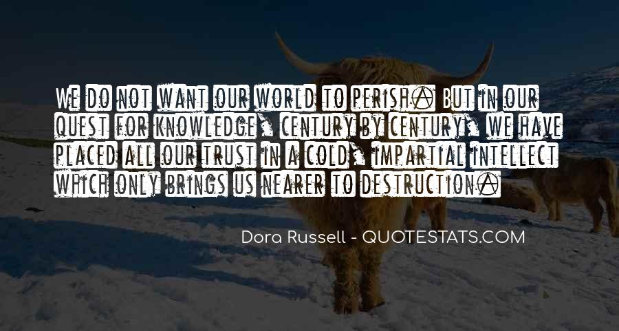 Quotes About Quest For Knowledge #1424810