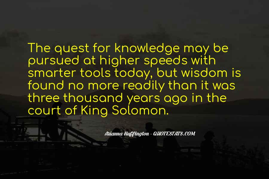 Quotes About Quest For Knowledge #1437547