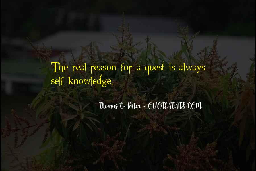 Quotes About Quest For Knowledge #1458147