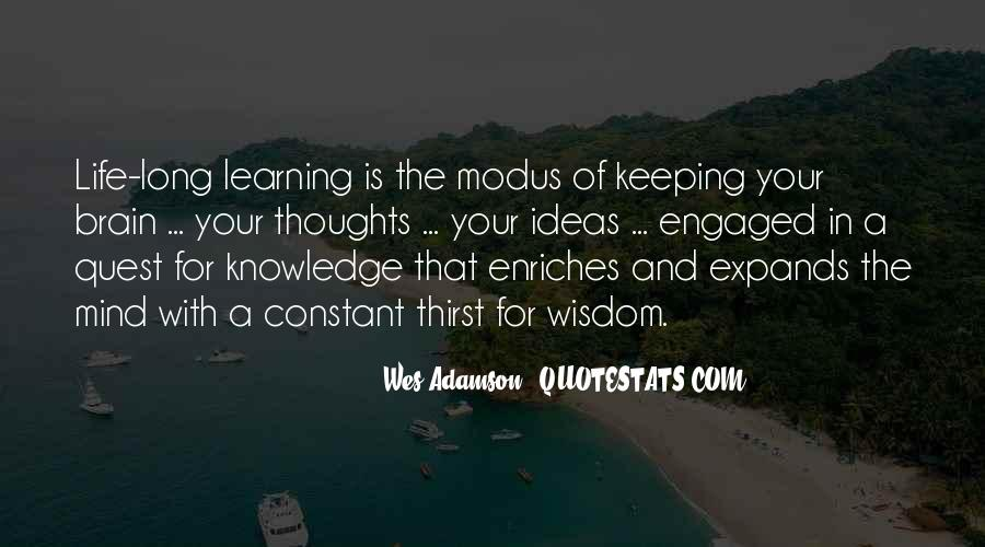 Quotes About Quest For Knowledge #152174