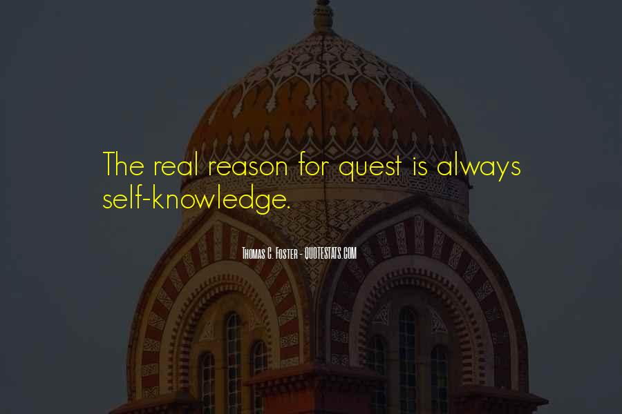 Quotes About Quest For Knowledge #1689299