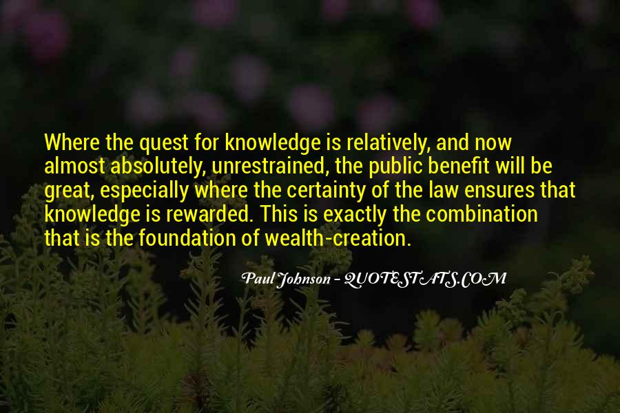 Quotes About Quest For Knowledge #19929