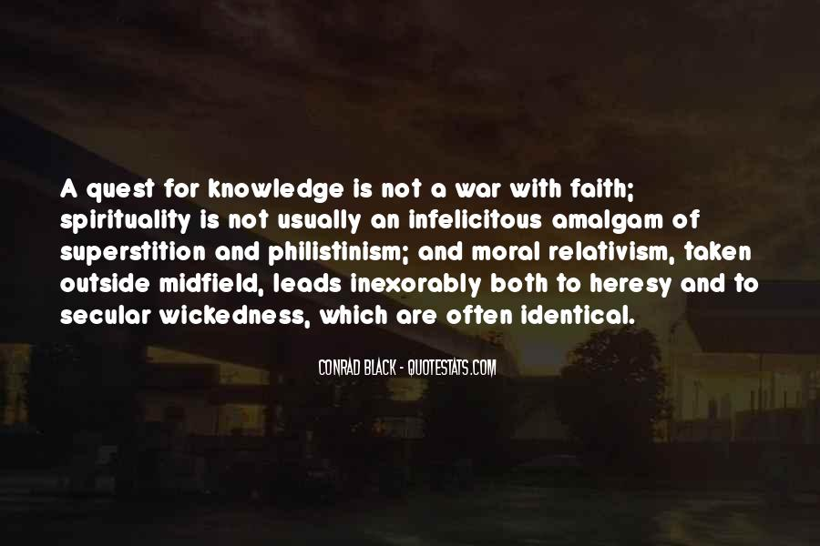 Quotes About Quest For Knowledge #442690