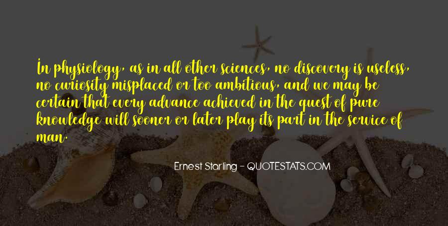 Quotes About Quest For Knowledge #443725