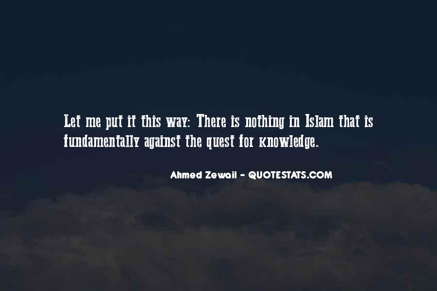 Quotes About Quest For Knowledge #838860