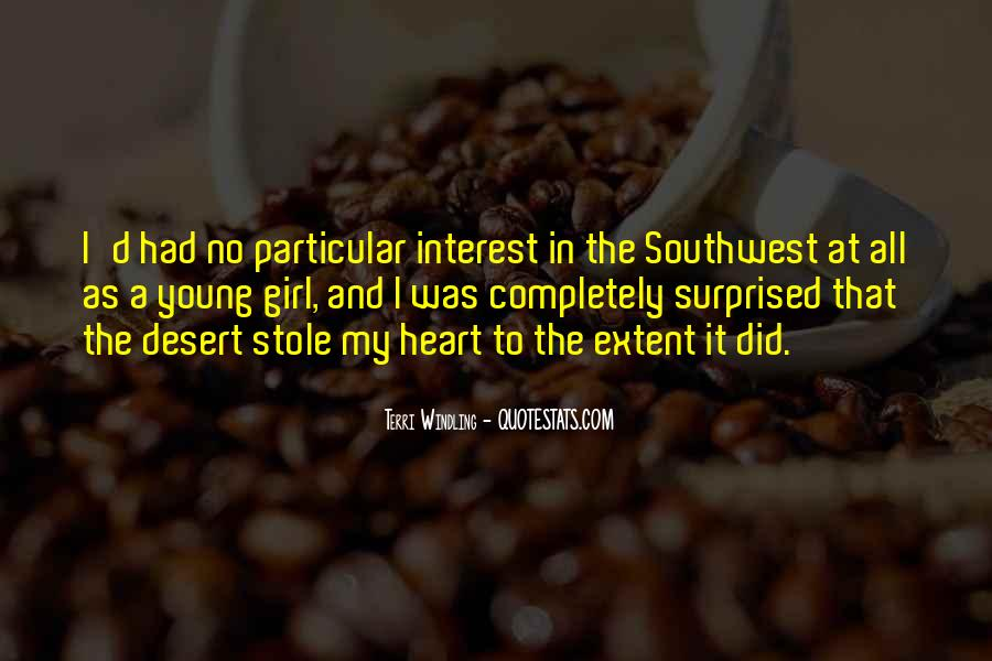 Quotes About The Southwest #1411067