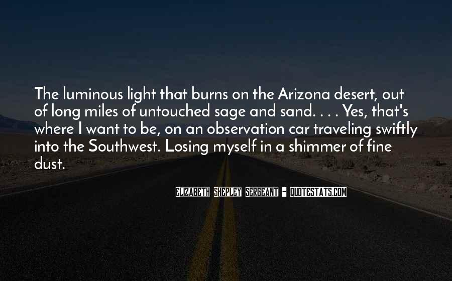 Quotes About The Southwest #1722516