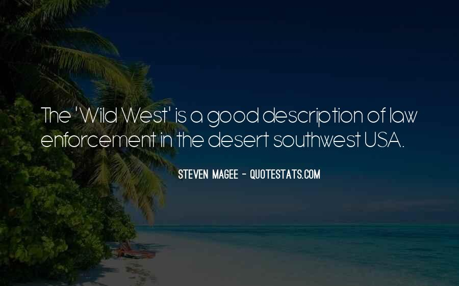 Quotes About The Southwest #583830