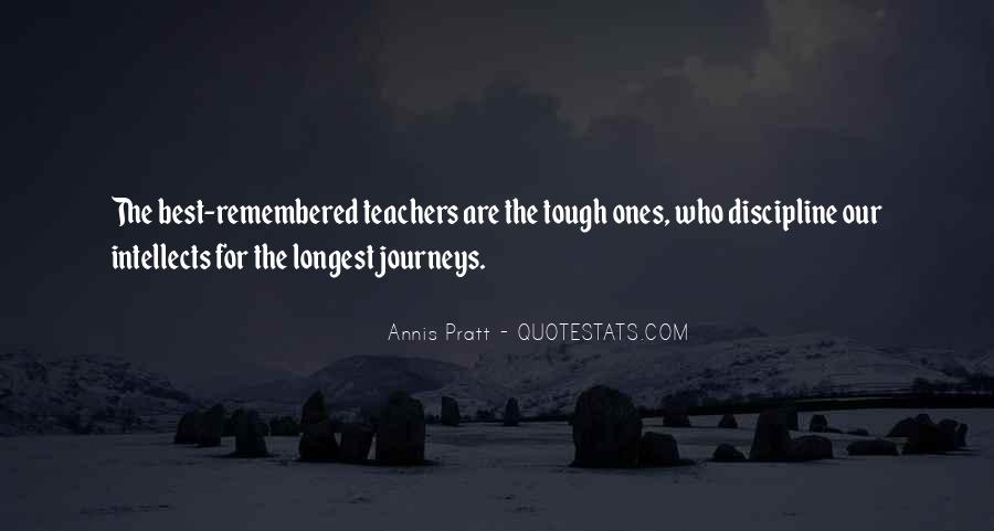 Quotes About Tough Journeys #573911