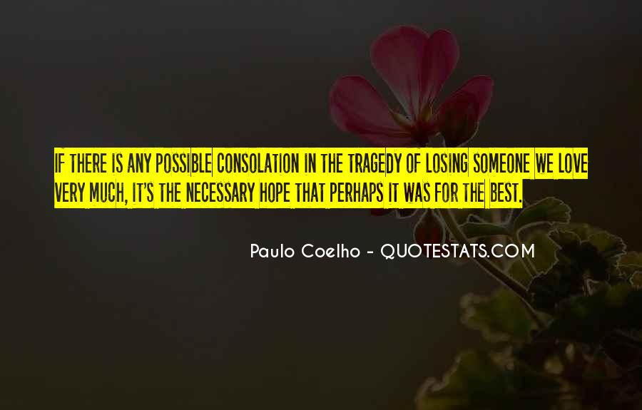 Quotes About Losing Hope In Someone #547348