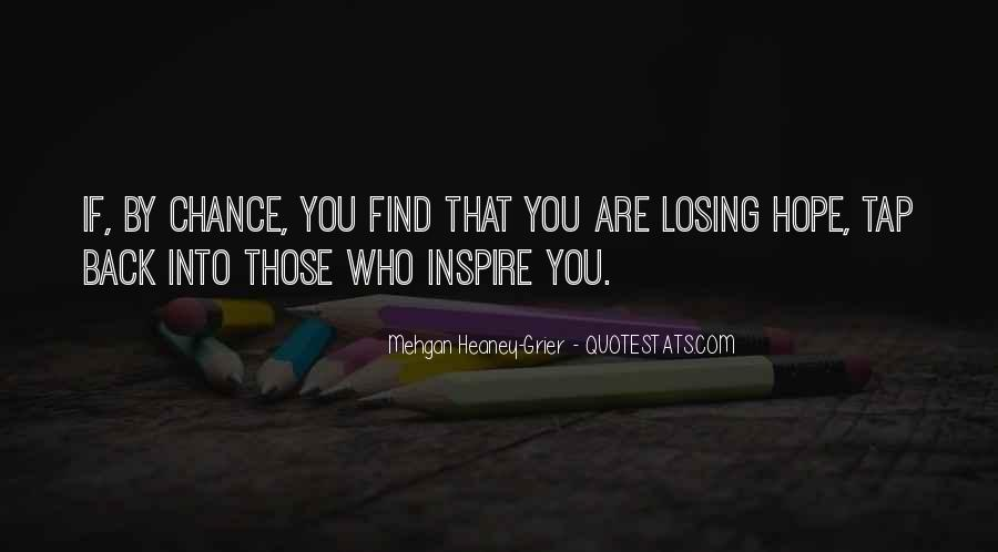 Quotes About Losing Hope In Someone #889387