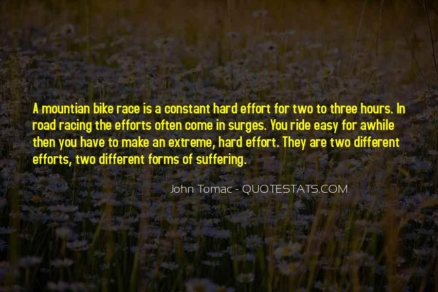 Quotes About Bike Race #1362128