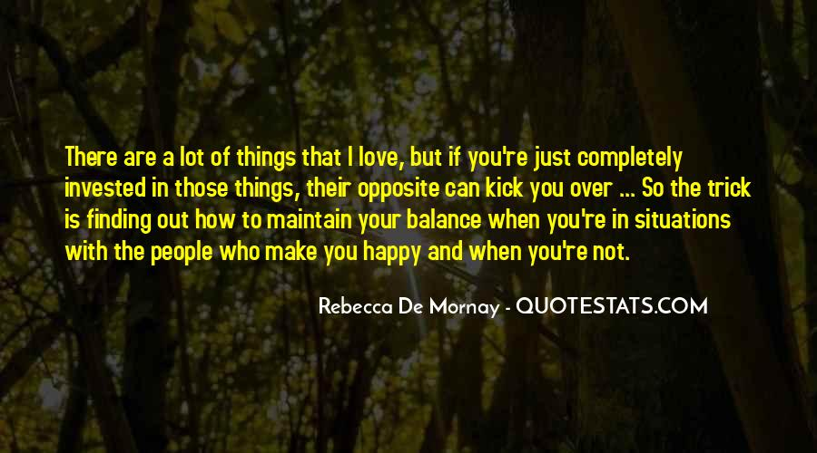Quotes About Balance And Love #701923