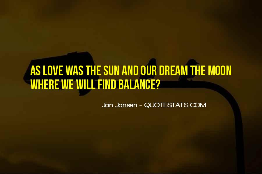 Quotes About Balance And Love #864553