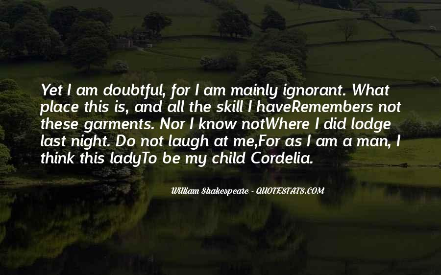Quotes About Doubtful #258558