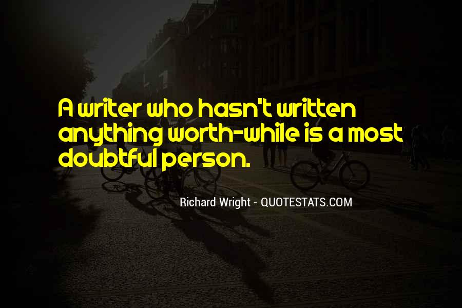 Quotes About Doubtful #265399