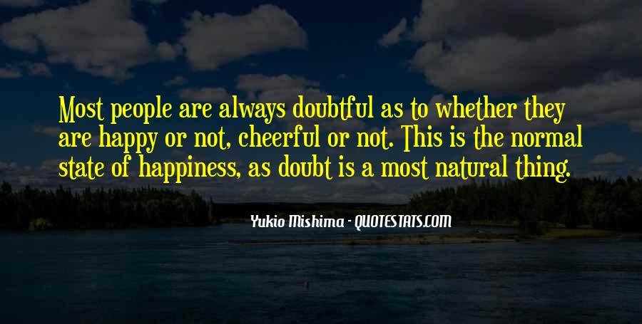 Quotes About Doubtful #4053