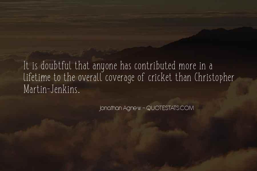 Quotes About Doubtful #427772