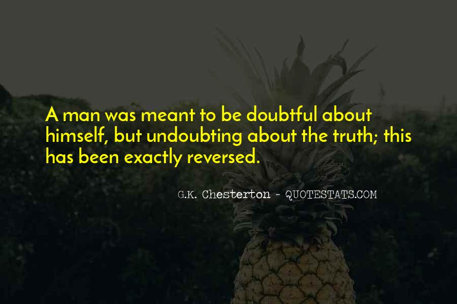 Quotes About Doubtful #483479