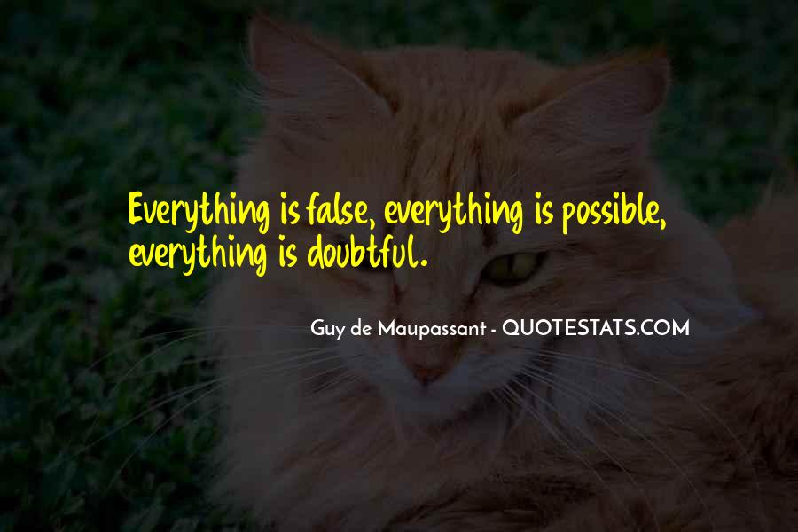 Quotes About Doubtful #697989
