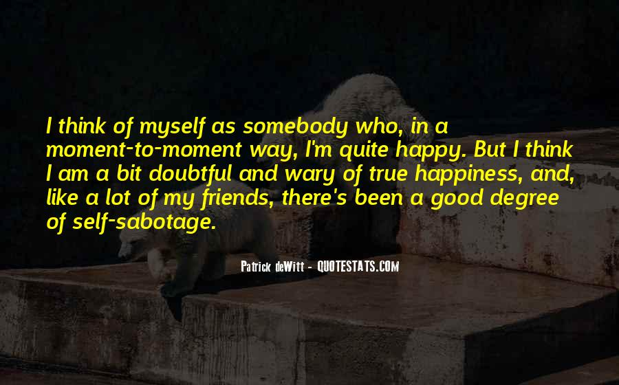 Quotes About Doubtful #708413