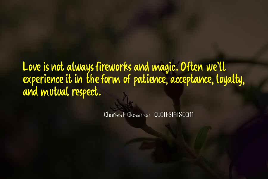 Quotes About Patience And Acceptance #1143918