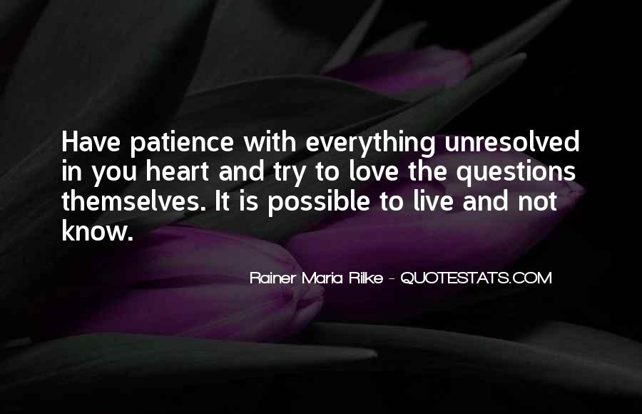 Quotes About Patience And Acceptance #688135
