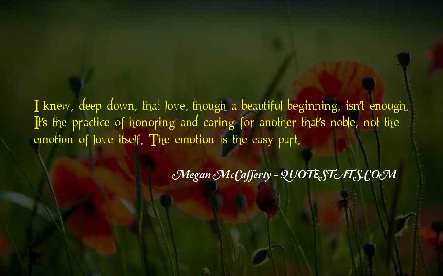 Quotes About How Love Isn't Easy #886401