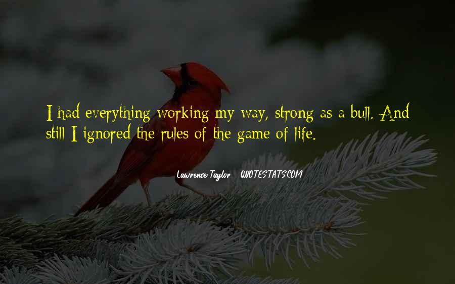 Quotes About My Life My Rules #760101