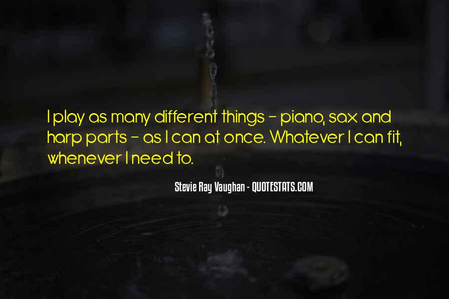 Quotes About Sax #1548150