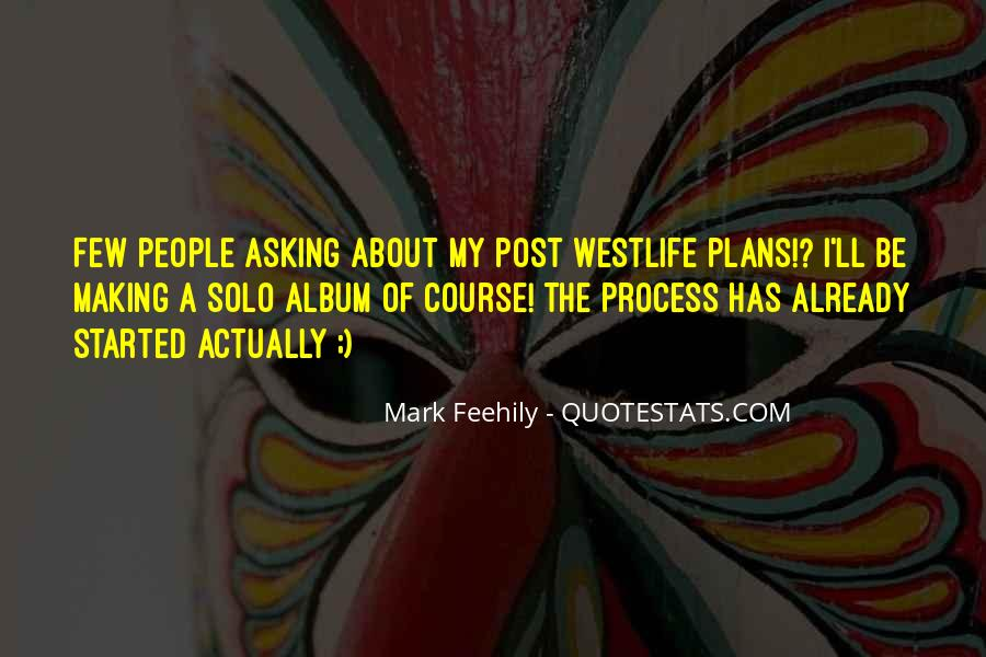 Quotes About Westlife #1822526