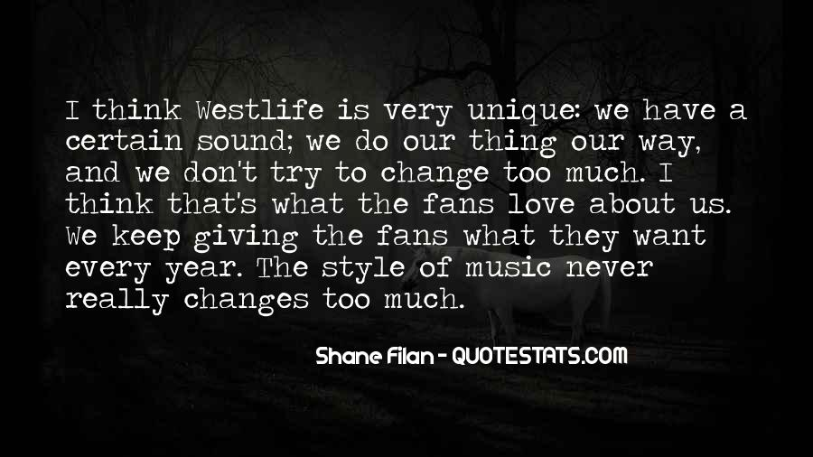Quotes About Westlife #381481