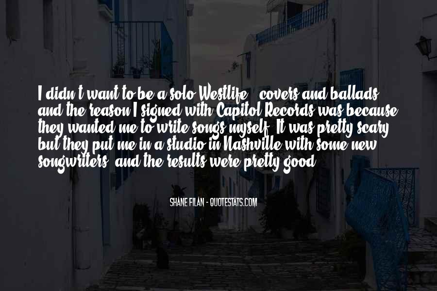Quotes About Westlife #727011
