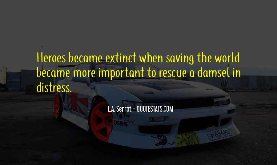 Quotes About Saving World #158158