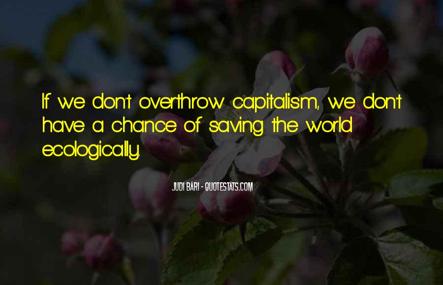 Quotes About Saving World #963922