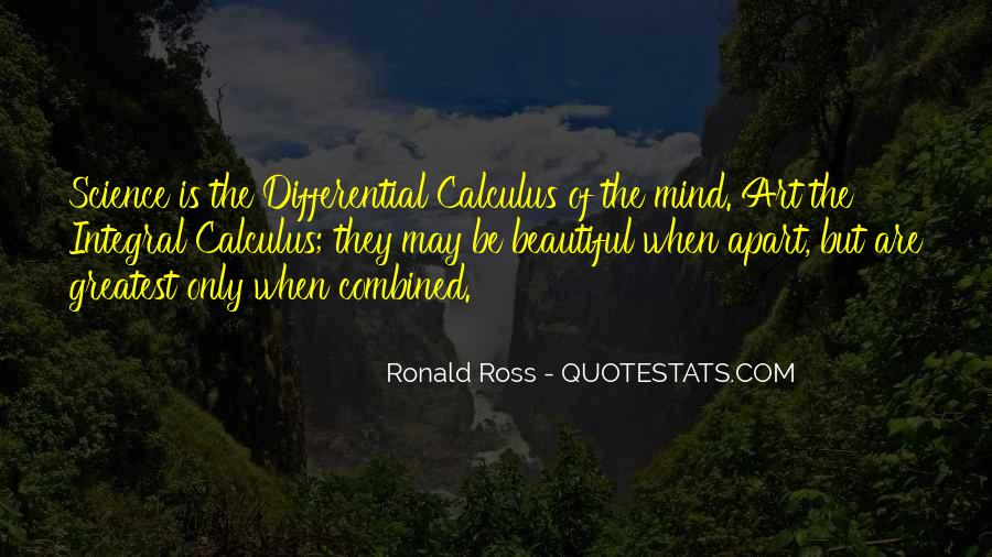 Quotes About Integral Calculus #671141