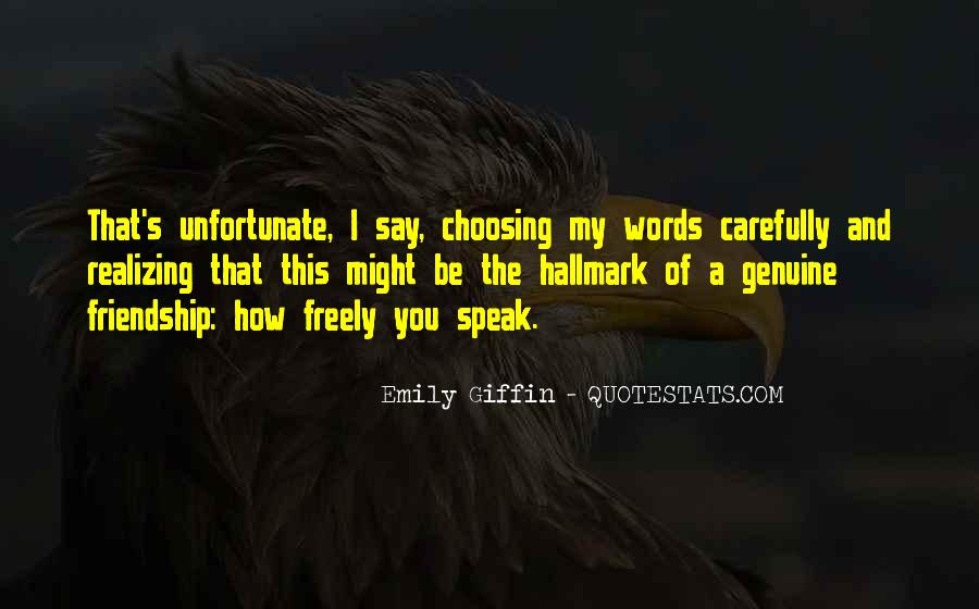 Quotes About Choosing Words Carefully #202417