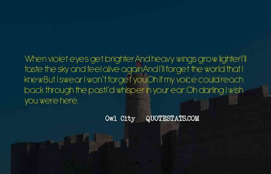 Quotes About Vanilla Sky #365640