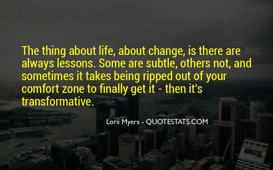 Quotes About Transformative Change #1716068