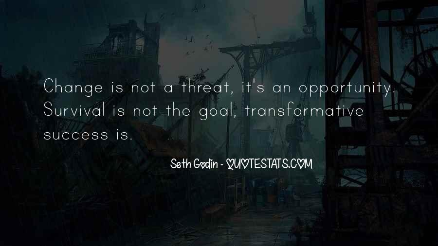 Quotes About Transformative Change #54521