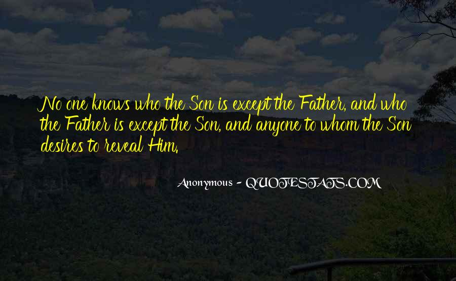 Quotes About Father To Son #127097