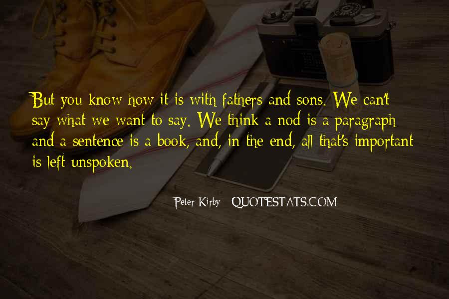 Quotes About Father To Son #431073