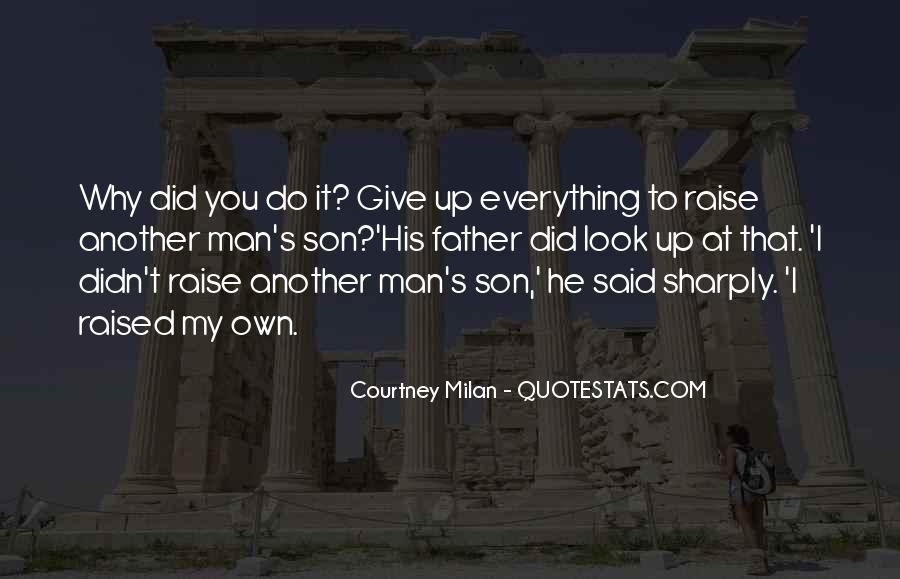 Quotes About Father To Son #62444