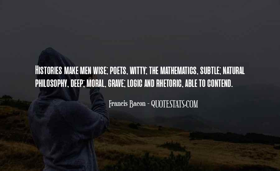 Quotes About Mathematics And Poetry #1195054