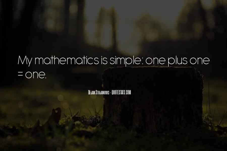 Quotes About Mathematics And Poetry #1398220