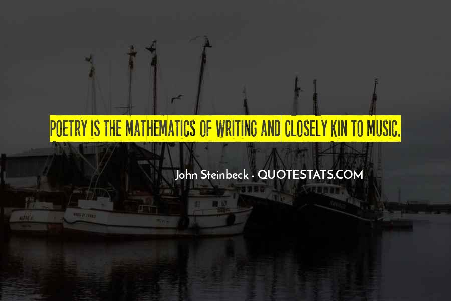 Quotes About Mathematics And Poetry #1511817