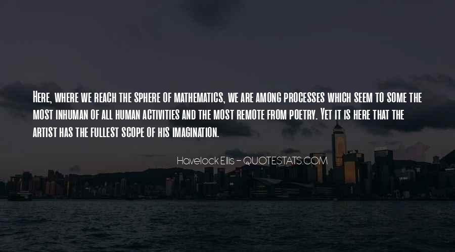 Quotes About Mathematics And Poetry #1601086