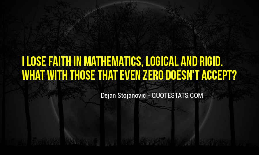 Quotes About Mathematics And Poetry #486365